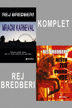 KOMPLET 2 knjige - Rej Bredberi