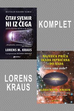 KOMPLET 2 knjige - Lorens Kraus